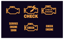 Hybrid Check Engine Light